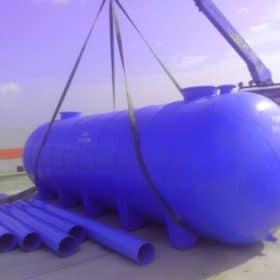 ถังเก็บน้ำไฟเบอร์กลาสขนาด 40,000 ลิตรราคาถูก