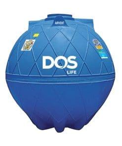 ถังเก็บน้ำใต้ดิน DOS GOLD ขนาด 3000 ลิตร
