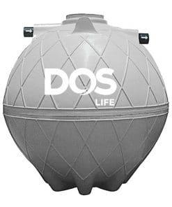 ถังบำบัดน้ำเสีย DOS COMPACT ขนาด 6000 ลิตร