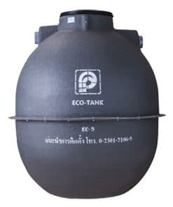 ถังบำบัดน้ำเสีย PREMIER รุ่น ECO TANK ขนาด 6000 ลิตร